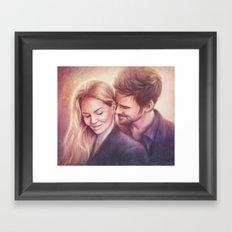 Something Smells Delicious Framed Art Print