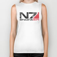 engineer Biker Tanks featuring Alt Engineer by Draygin82