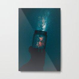 Magical Jar Metal Print