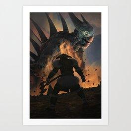 Terminator diablo Art Print