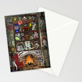 Creepy Cabinet of Curiosities Stationery Cards