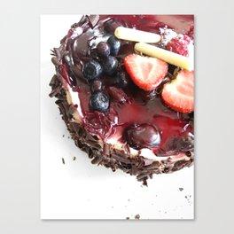 LET THEM EAT Canvas Print