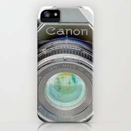 Old Canon AE-1 Camera iPhone Case