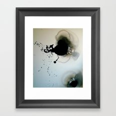 About the distance Framed Art Print