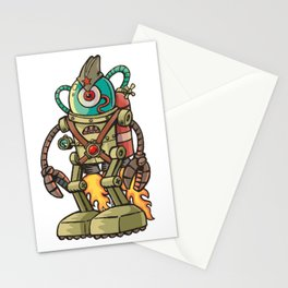 Robot USSR Stationery Cards