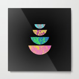 Colour Balance - Abstract Minimalism Metal Print