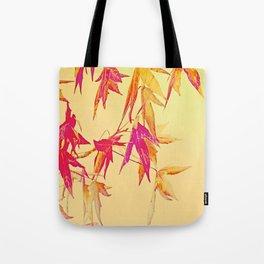 Autumn magic leaves Tote Bag