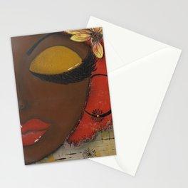Chocolate Sassy Girl Stationery Cards