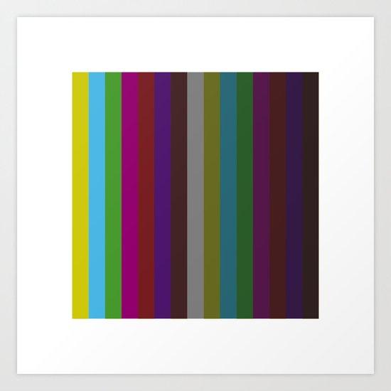 #455 Test pattern – Geometry Daily Art Print