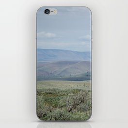 The Velvety Hills of Central Oregon iPhone Skin