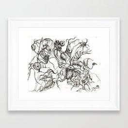 Botanical Abstract #8 Framed Art Print