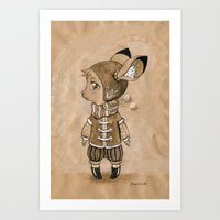 mouse Art Prints featuring Mouse by Freeminds