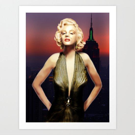 Marilyn Forever Art Print