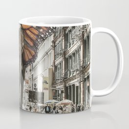 Lost Butterphant in NYC Coffee Mug