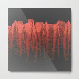 Ghost Wave (r) Metal Print