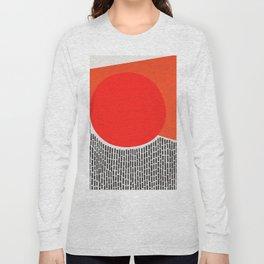 Sunshine And Rain Abstract Long Sleeve T-shirt