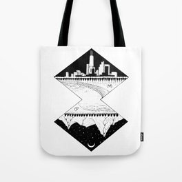 City by the Mountains Tote Bag
