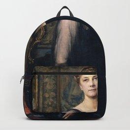 Ignaz Gaugengigl - Mrs James Henry Lancashire (Sarah Hale Wright) Backpack