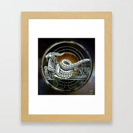 """""""Astrological Mechanism - Capricornus"""" Framed Art Print"""