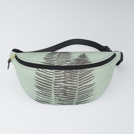 Forest Fern Prin Fanny Pack