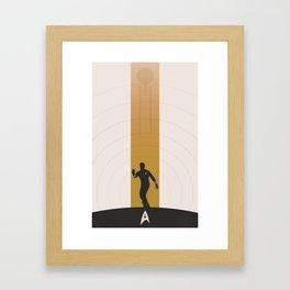 Kirk (Original Series) Framed Art Print