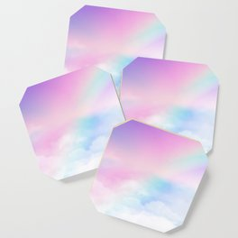 Pretty Rainbow Coaster