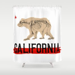 Extinction Shower Curtain