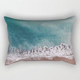 Ocean II (drone photography) Rectangular Pillow