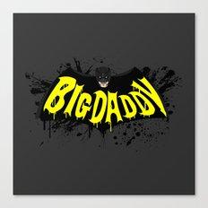 Big Daddy Splash logo Canvas Print