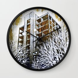 """""""The Fortress"""" Wall Clock"""
