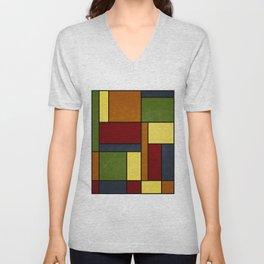 Mondrian VG Unisex V-Neck