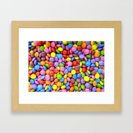 Colorful Candy Framed Art Print