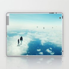 Heaven's already here above the clouds Laptop & iPad Skin