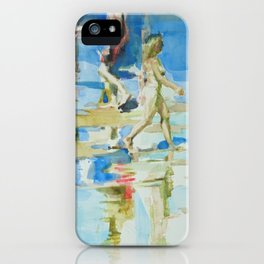 Sea sketches 3 iPhone Case