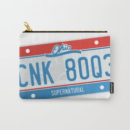 Supernatural Ohio license plate Carry-All Pouch