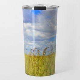 Clouded Sky Travel Mug