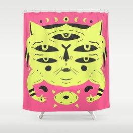 Sand Cat Shower Curtain