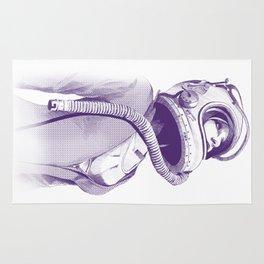 Space Woman Rug