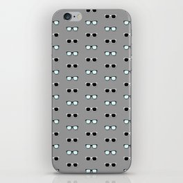 All Them Glasses - Grey iPhone Skin