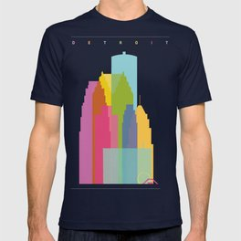 Shapes of Detroit T-shirt