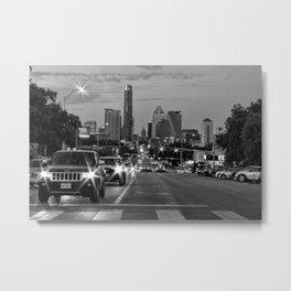 South Congress - Austin, TX Metal Print