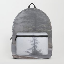"""""""Wander"""". Into the foggy woods Backpack"""