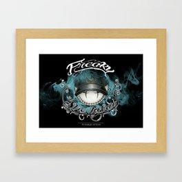 Freakhead Framed Art Print