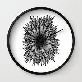 Pointillism Star Wall Clock