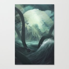 Guardian of the Deep Canvas Print