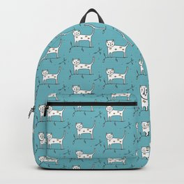 Cat Pattern Backpack