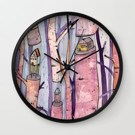 Safe House Wall Clock