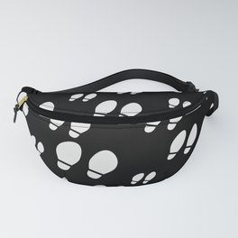 footprints (off white) Fanny Pack