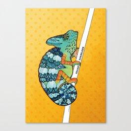 Veiled Chameleon I Canvas Print
