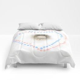Pastel hearts Comforters